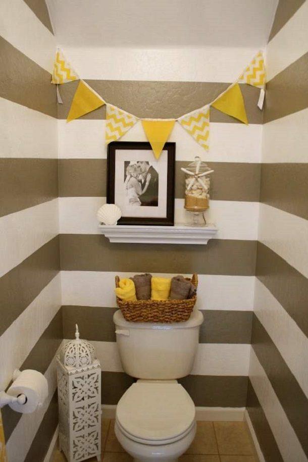 туалета фото декора маленького