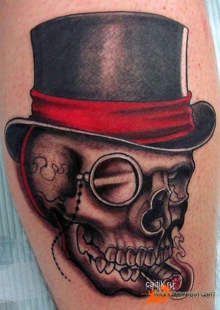 Значение татуировки Череп: у парней, девушек, на зоне