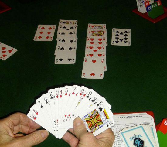 Род карточной игры 5 букв