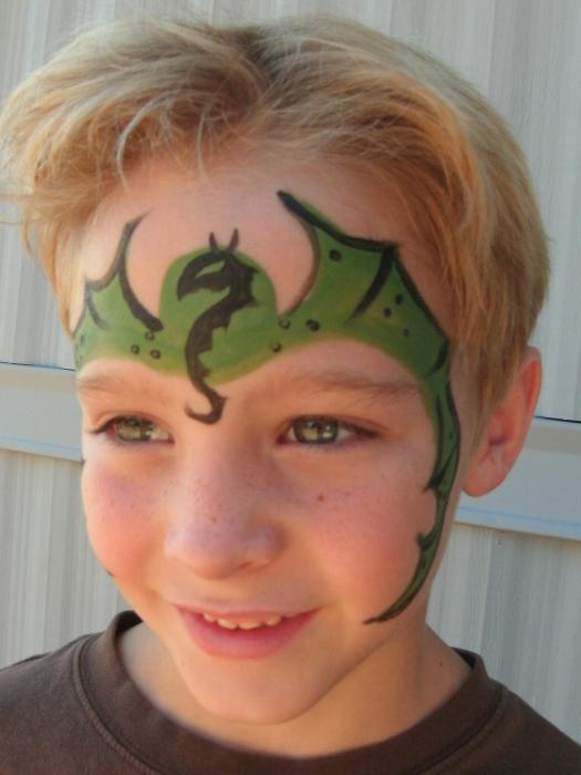 фото детские рисунки на лице